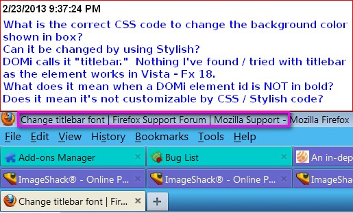 how to change firefox color