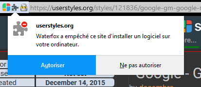 Can't Install Stylish (July 2018) — forum userstyles org