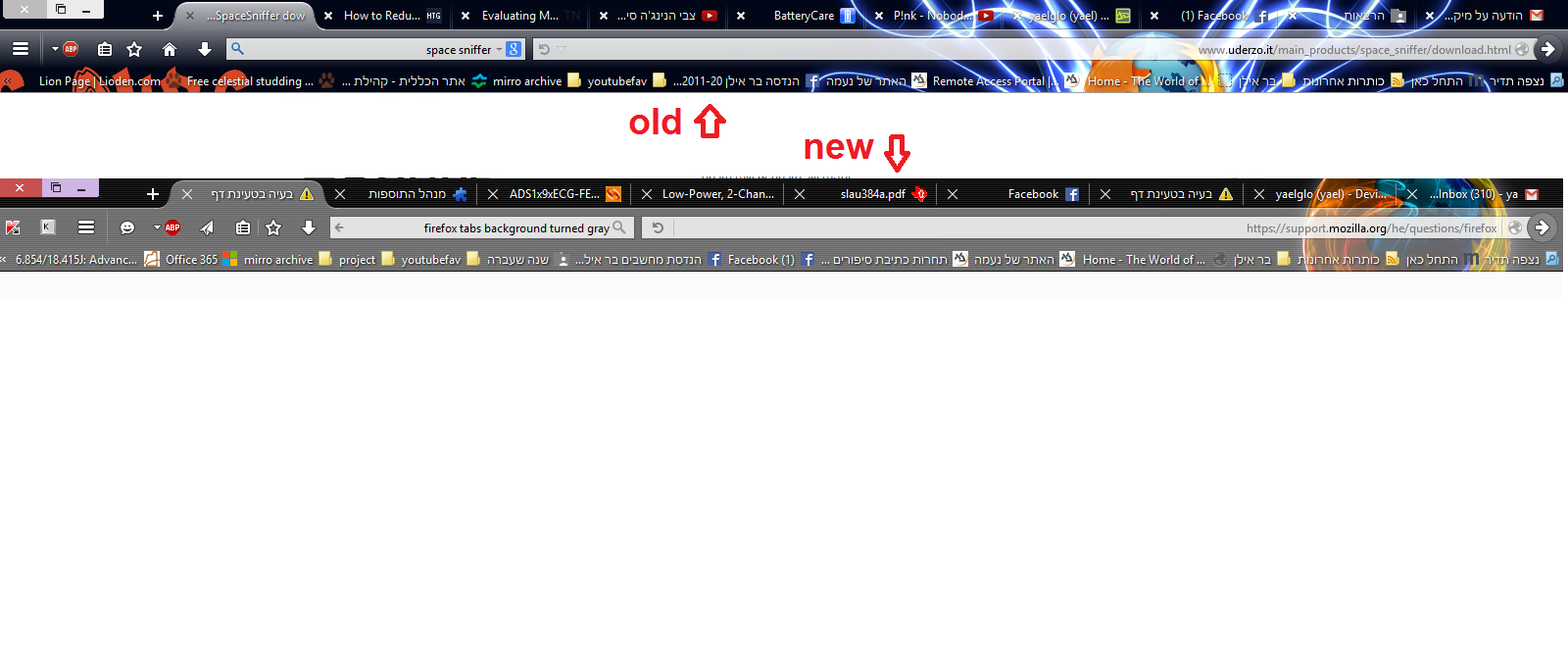 how to change the navigation bar cilour from bridge